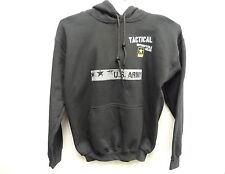 Power Trip NWT Men's Black US Army Tactical Motorcycle Hoodie Sweatshirt (M)