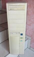 Bigtower AMK K6 200MHZ PC Computer  AT Netzteil Vintage Gigabyte , Matrox