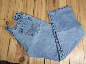 Vintage Levis 505 Orange Tab Jeans Mens Size 32x30 Wide Legged Hemmed