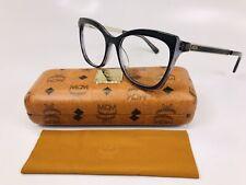 New MCM2656 001 Black Eyeglasses 52mm with Case & Cloth