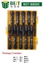 BEST-8800C Screwdriver Repair Tool Kit for Mobile Tablet iPhone Laptop 10in1 Set