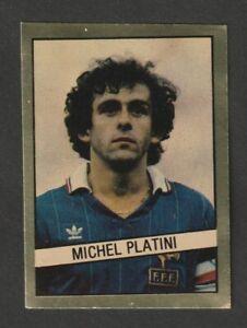 FIGURINA STICKERS CALCIATORI CALCIO FLASH 83 1982-83 FRANCIA PLATINI'