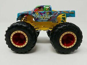 HOT WHEELS Monster Trucks RAIJYU 1:64 Mattel (jam6cp)