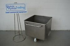 More details for stainless steel tote bin 200 litre, others available free p+p