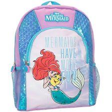 The Little Mermaid Backpack | Disney Little Mermaid Rucksack | Disney Ariel Bag