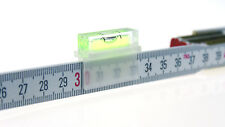 Libellino Nivellierhilfe Lineal-Wasserwaage, Meterstab-Wasserwaage Libelle