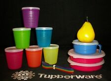 Tupperware Munch Kids Eco Stages Divided Dish Plates ~Handled Bowl ~IKEA Cups +