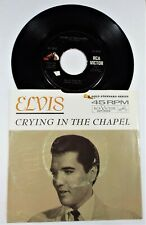 Elvis Presley – Crying In The Chapel / I Believe In The Man In The Sky – RCA 45