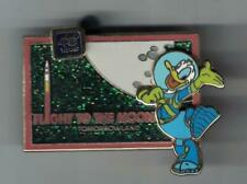 Disney WDW 40 Years Tomorrowland Flight To The Moon Donald Duck Pin LE 1500