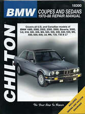 NEW BMW Coupes and Sedans, 1970-88 (Chilton Total Car Care Series Manuals)