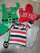 Baby Boys 9-12 Months Christmas Clothes Bundle (B59)