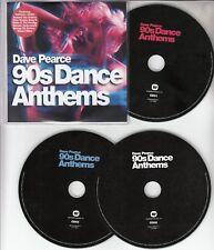 DAVE PEARCE 90s Dance Anthems 2015 UK 60-track promo test 3-CD Faithless Prodigy