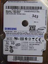 160GB Samsung HM160HI | P/N: 281313CQ876682 | 2008.10 | #343