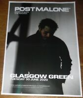 Post Malone - live music show june 2020 promotional tour concert gig poster