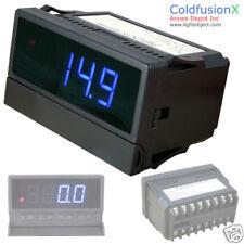 Blue AC/DC Dual Control 5A 500A Current meter Ammeter