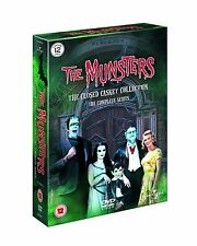 The Munsters Complete Season Series 1 & 2 Collection DVD Box Set R4/Aus 12 discs