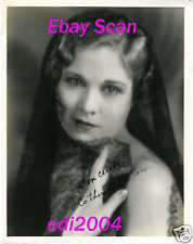 ESTHER RALSTON Original AUTOGRAPHED Photo HOMMEL Stamp