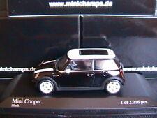 MINI COOPER 2001 BLACK MINICHAMPS 431138101 1/43 NOIRE NOIR SCHWARZ AUSTIN