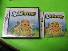 ANIMATES! ~ NINTENDO DS CASE & MANUAL ONLY (NO GAME)
