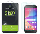 2-Pack Dmax Armor Tempered Glass Screen Protector for BLU View 2 (B130DL)