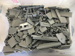LOT LEGO 2,8 KG KILO - LIGHT GREY - CASTLE - TECHNIC - PIRATES - SPACE