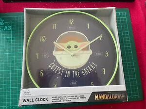 Disney Star Wars The Mandalorian Wall Clock