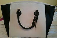 House of fraser casa di borse black / white tote handbag Bnwt two tone Shoulder