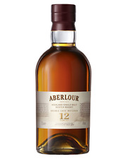 Aberlour 12 Year Old Double Cask Scotch Whisky 700mL Speyside bottle