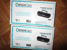 TONER Laser 1972 Compatible LEXMARK 232 / 330 Imprimante Cartouche encre NEUF