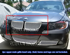 Fits 06-07 BMW 3-Series E90 Sedan Stainless Steel Mesh Grille Insert