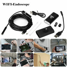 Inspection HD Android LED Phone  PC WiFi Waterproof  6 Camera Endoscope le