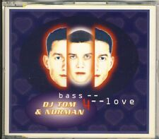 DJ Tom & Norman-Bass 4 Love 6 TRK CD MAXI 1994