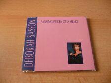 Maxi CD Deborah Sasson - Missing pieces of a heart - 1989 - RARE