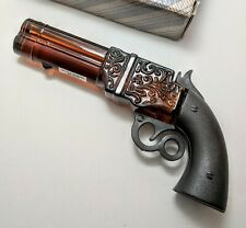 Vintage Avon Wild Country Cologne, Volcanic Repeater Pistol Decanter Mostly Full