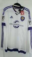 Adidas Adizero Authentic Orlando City Fc Mls Long Sleeve Soccer Jersey Size M