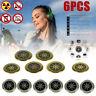 6PCS Anti Radiation Shield EMF Protection Neutralizer Sticker Scalar Energy Set