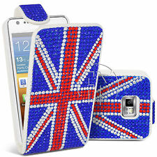 Jewelled Leather Cases & Covers for Samsung