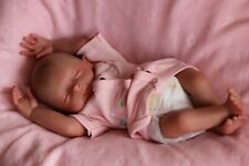 "REBORN BABY DOLL PREEMIE 15"" PREMATURE FAITH, ARTIST 9yrs MARIE (outfit may vary"