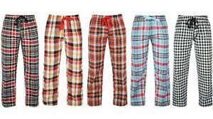 Women's Ladies Woven Pyjama Bottoms Loungewear Pants Trousers Night PJS 8-16