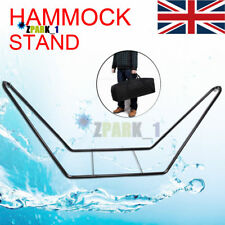 Large Garden Camping Outdoor Patio Double Hammock Metal Frame Stand -Stand Only