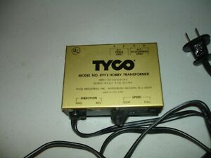 Tyco Model No. 899V HO Hobby Transformer 18V Railroad, Vintage 70's