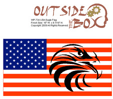Usa Eagle Flag Saw Pattern by Otb Patterns