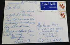 More details for benny hill good handwritten signed singapore note to phobe king 'loveable boy'