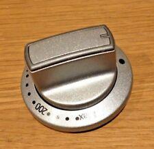 BEKO BDVC674MS Oven Temperature Control Knob Silver GENUINE PART