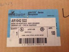 Crouse-Hinds Receptical AR1042 S22