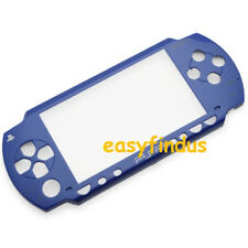 for SONY PSP 1000 series blue front FACEPLATE COVER THEME OLD VERSION new
