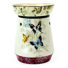 Butterfly Wax Tart Scented Oil Candle Warmer Electric Ceramic