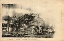 CPA  Le Creusot - Marteau Pilon á vapeur de 100 tonnes  (638008)
