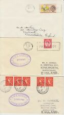 1961-64 Kingston Jamaica lot of 3 x Paquebot covers ~ RMS Andes