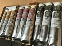 Oil Paint Pigment High quality Artist 3PC 60ml Tube Professional Sale Newest
